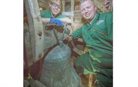 Apprentices keep church's bells ringing