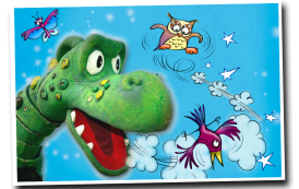 Dragon Dotty aims to see the world…