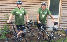 Doug and Sam planning special Somme family ride for heroes