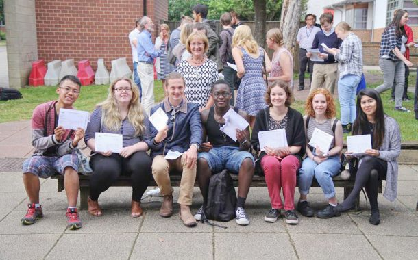 Future looks bright for Basingstoke bright sparks on results day