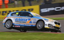 Collard slips back in title fight after frustrating weekend at Knockhill