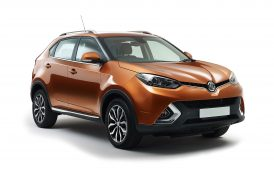 MG's first SUV put to the test