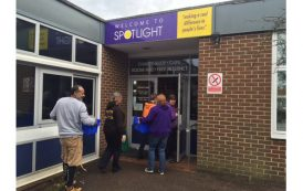 Popley charity handed lottery funding