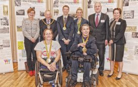 Hockey star honoured by council