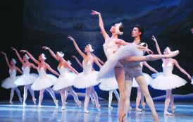 The grace and elegance of ballet