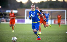 'Stoke knocked for six by Weymouth