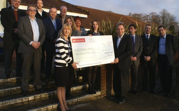 Positive step taken by charity, thanks to funds provided by businesses