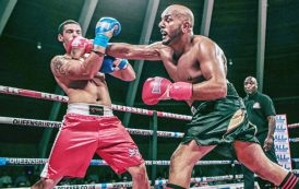 Boxer Sheikh one win away from title bout