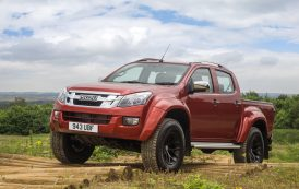 Isuzu pick-up takes it to D-Max