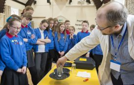 AWE conducting experiments at Basingstoke school