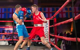 Success for England in Basingstoke charity boxing tournament