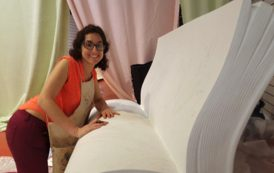 Book benches taking shape for Jane Austen trail