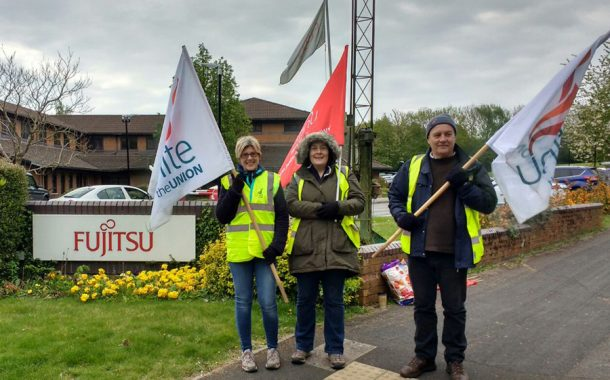 More strikes over job cuts and pensions at Fujitsu in Basingstoke
