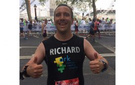 Marathon effort from Richard as he nears fundraising target