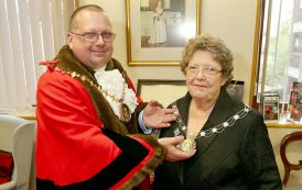 First for Basingstoke as new mayor takes over from mum