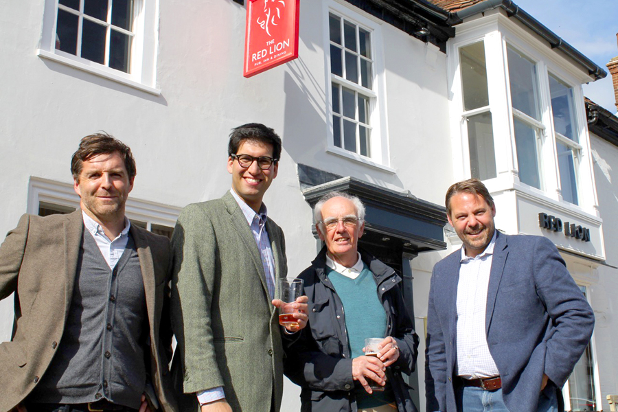 Red Lion roaring into action after 300 years