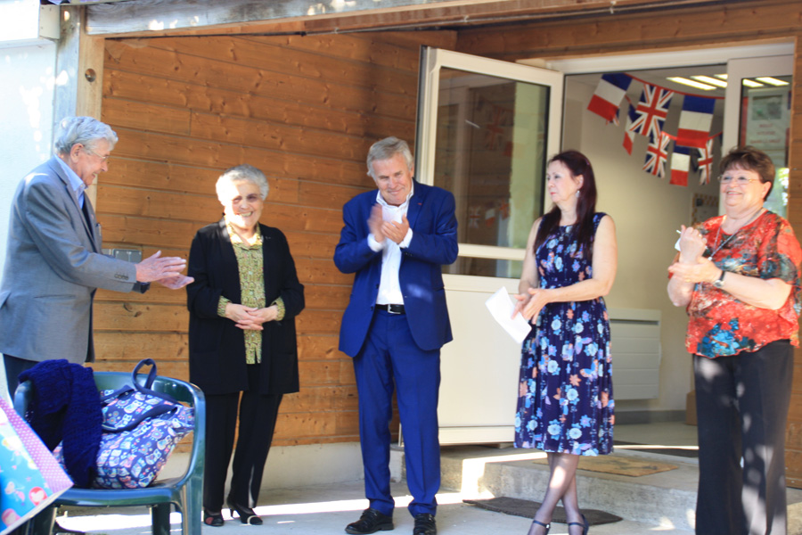 Whitchurch celebrates long friendship with French twin town