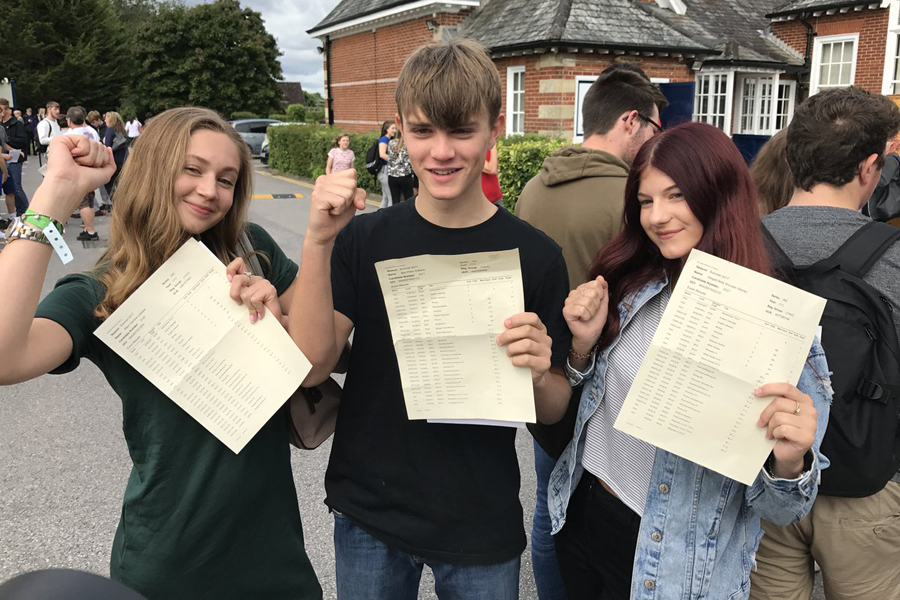 All of the hard work pays off for Basingstoke's GCSE students