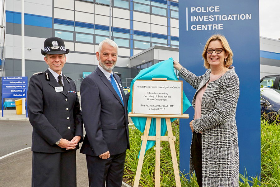 Home Secretary opens new £10m policing centre
