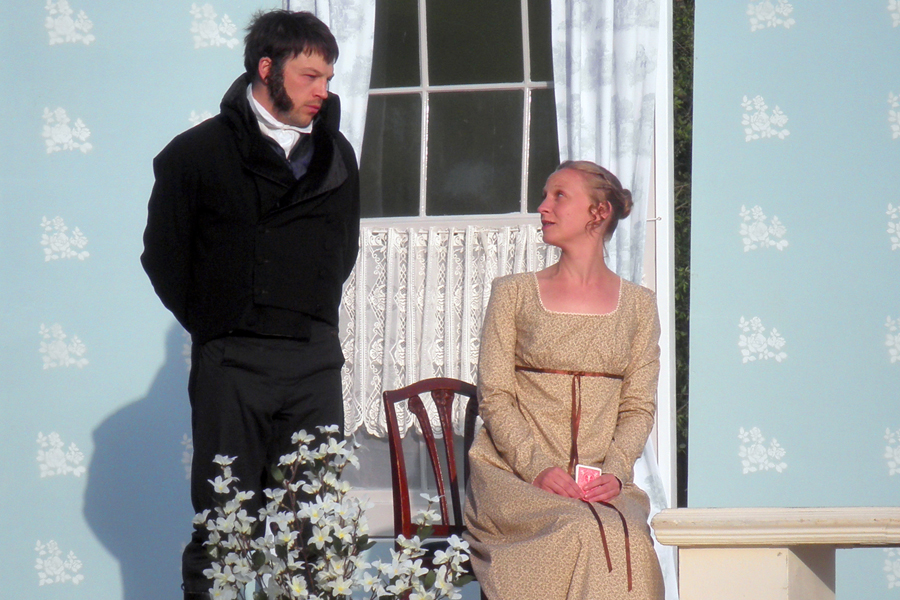 Pride and Prejudice comes to Basing House