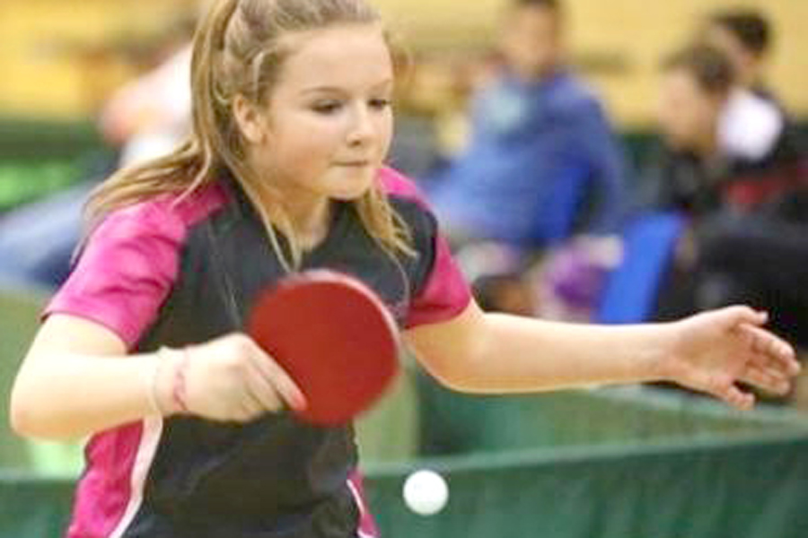 Amy aims to follow in footsteps of Olympians at school games