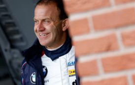 Collard thanks team for getting his BMW ready for BTCC finale