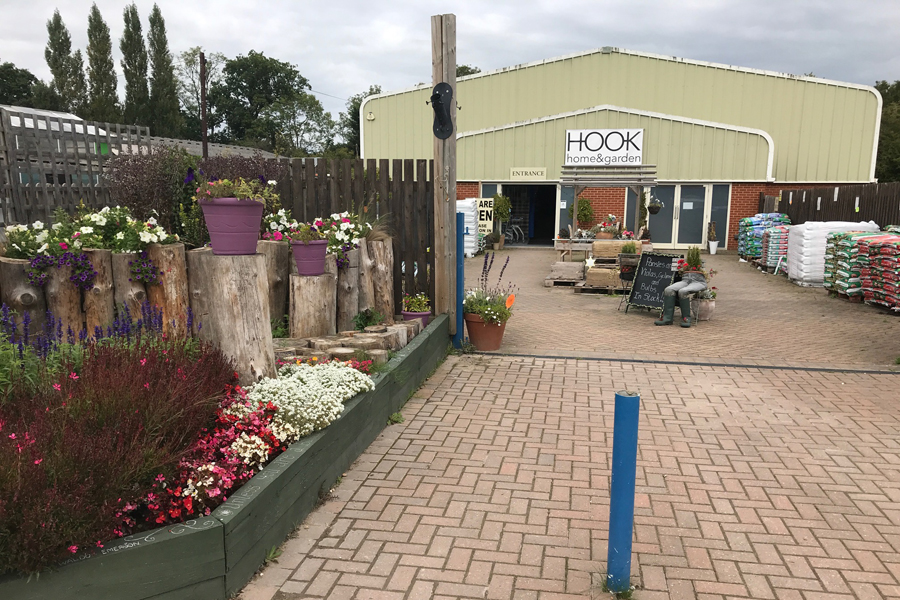Roadworks could lead to closure of Hook garden centre, owner fears