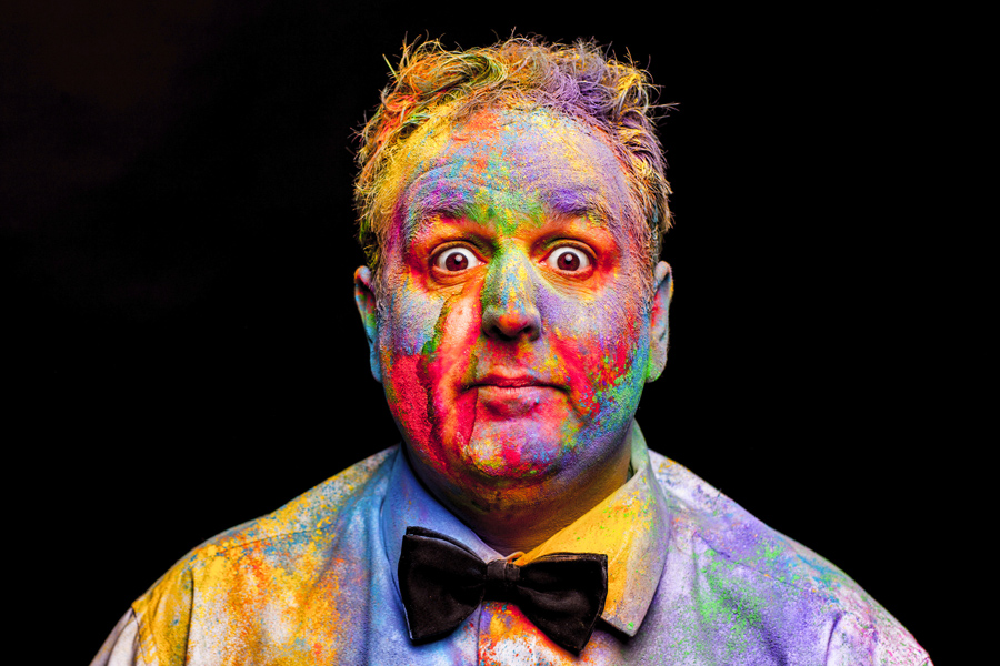 From Phoenix Nights to Phoenix Arts with a splash of colour