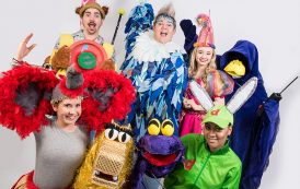 Join colourful crew as they chase down the dastardly duck