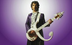 Tribute act to Prince started off with a bet