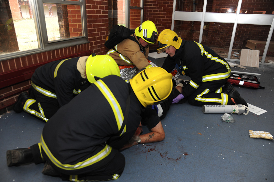 Mock attack helps to prepare 999 services