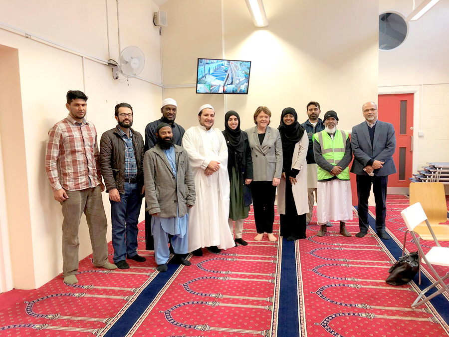 MP celebrates diversity of town with visits