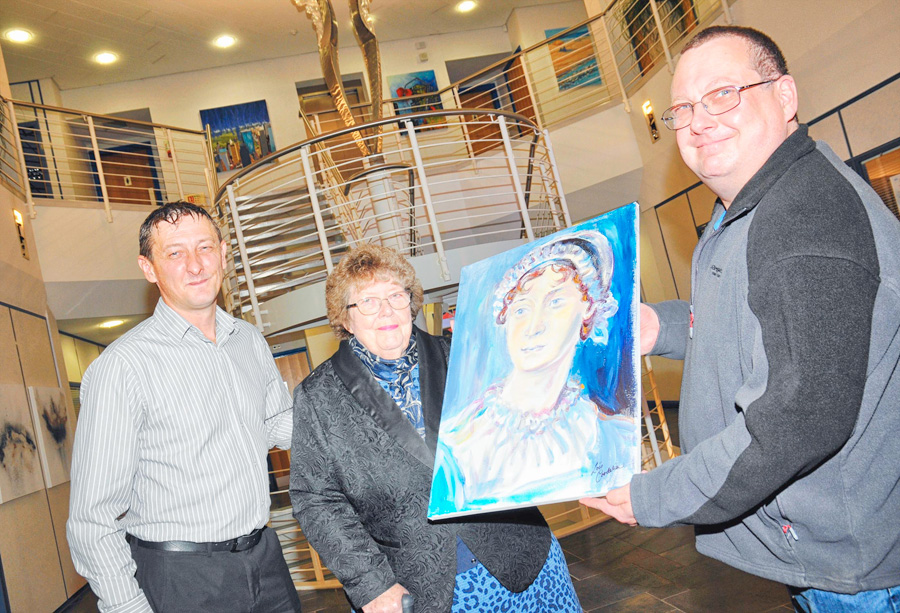 No Persuasion needed as sons buy picture for mum