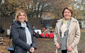 MP's praise for forest school