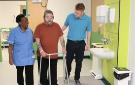 New hospital unit to help over winter