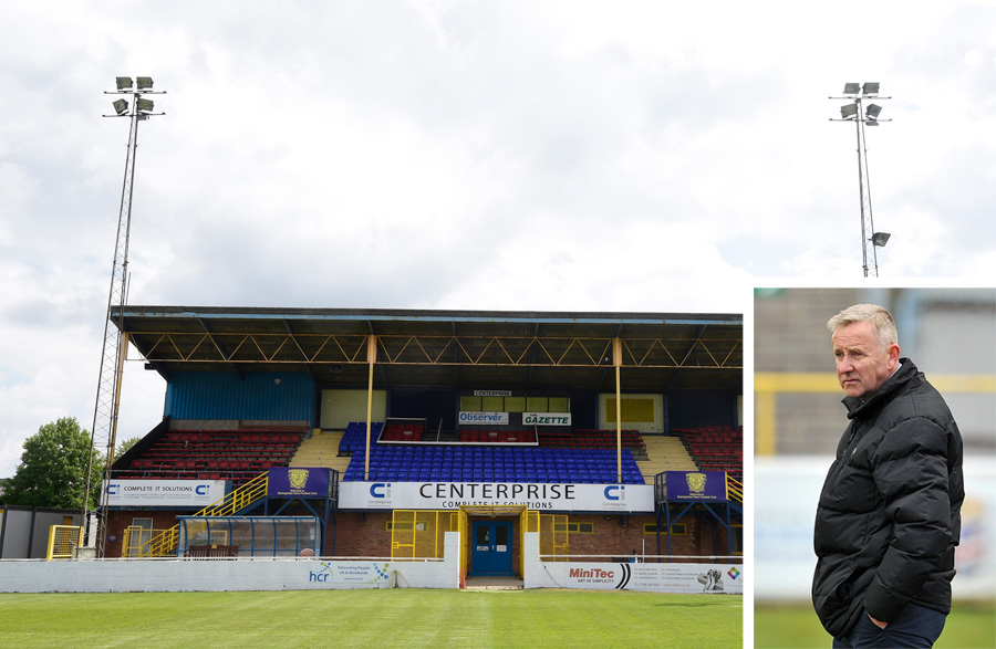 Manager's fears for football club as budget cuts hit hard