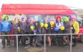 Go mad with your hair to boost charity