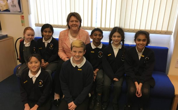 School expansion plan praised by MP on visit