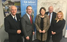 Minister given first-hand tour of town