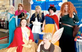 Fairytale princesses help wishes come true