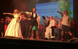 Hospital panto reaches new heights