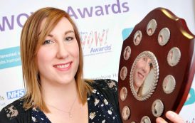 Midwife's labours earn award