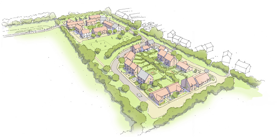 Village homes approved with funding for schools