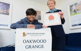Schoolboy becomes part of housing development's history