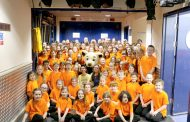 Pupils out of this world experience with Barnaby Bear