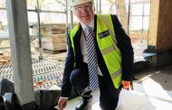 Milestone reached in school expansion