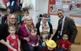 Ofsted Chief Inspector visits BCoT's 'Outstanding' nursery