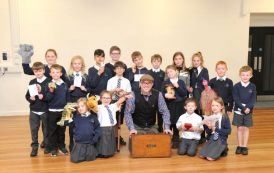 Storytelling treat for Hook pupils