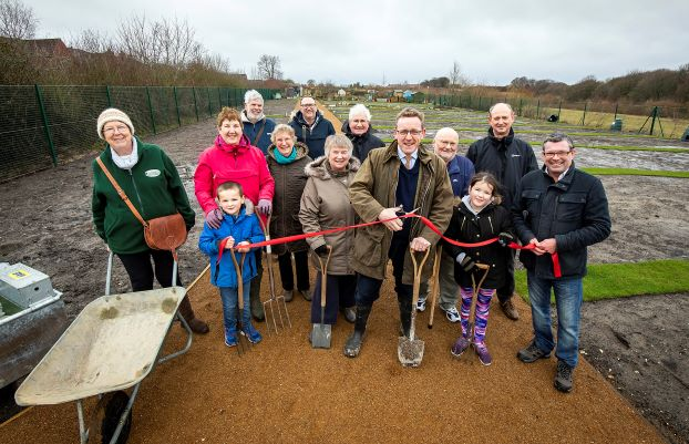 Allotment holders put down new roots